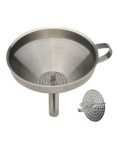 """Norpro S/S 5"""" Funnel With Strainer"""