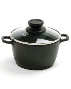 Norpro Mini Pot With Vented, Tempered Glass Lid