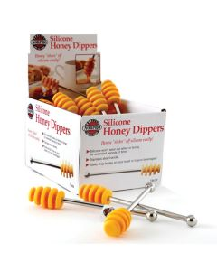 Norpro Silicone Honey Dipper, Display of 24