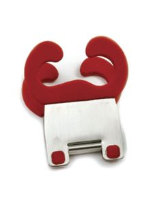 Norpro Grip-Ez Pot Clip, Red, carded