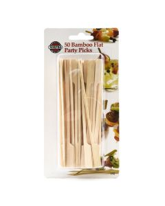 Norpro Bamboo Picks, 50 pieces