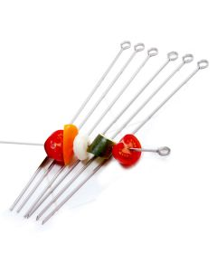 "Norpro S/S 14"" Skewers, set of 6"