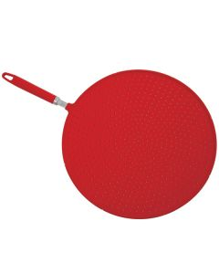 Norpro Splatter screen strainer, red