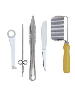 Norpro 5 Piece Garnish Set