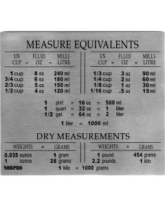 Norpro Measure Equivalents Magnet