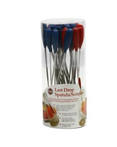Norpro Last Drop Spatulas, display of 36