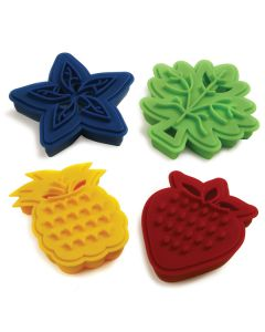Norpro Cookie Cutter, Two Sided, Set of 4