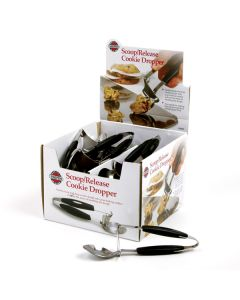 Norpro Scoop/Release Cookie Droppers, display of 18