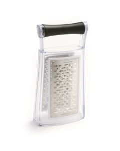 Norpro Grip-EZ Slim Grater With Catcher & 3 Surfaces