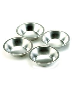 Norpro Mini Tin Pie Pans, set of 4