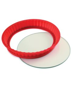 Norpro silicone and glass baking pan
