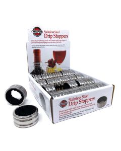 WINE DRIP STOPPER, 24 PC DSP