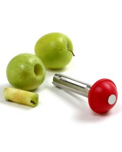 Norpro S/S Apple Corer With Plunger