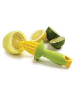 Citrus reamer with cover and strainer