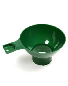 Norpro Wide Mouth, Plastic Funnel, Green