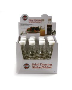 Norpro Salad Dressing Shaker/Maker Display of 12