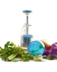 VEGETABLE CHOPPER, BLUE