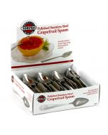 Norpro Deluxe Grapefruit spoons, display of 48