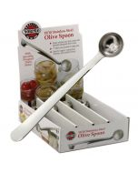 Norpro Olive Spoon, display of 36