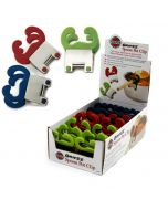 norpro grip-ez pot clip, 12pc display, assorted colors