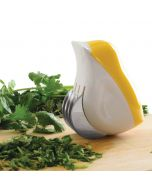 HERB MINCER W / BLADE COVER, YELLOW BIRD