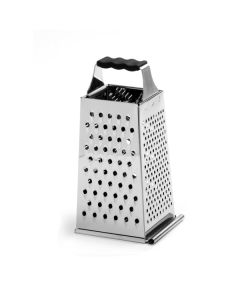 Norpro Grip-EZ Stainless Steel 4-Sided Grater With Sliding Tray