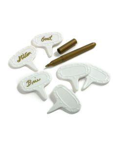 Norpro Porcelain Cheese Markers, 7 piece set