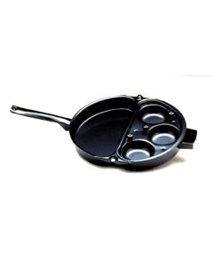 Norpro Omelet Pan With Removable 3 Egg Poacher