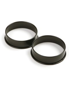 Norpro Pancake/Egg Rings, Set of 2, Round