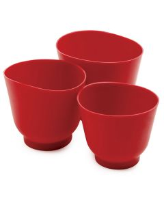 Norpro Silicone Bowls, set of 3