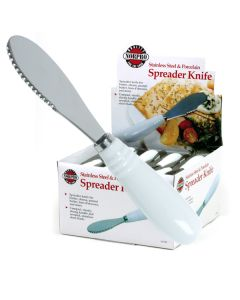 Norpro Spreaders With Porcelain Handle, display of 24