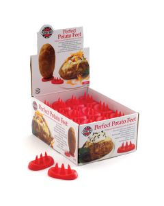 Norpro Potato Feet, Display of 36