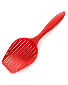 norpro large red colander scoop