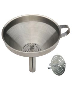 "Norpro 5.5"" S/S Funnel With Strainer"