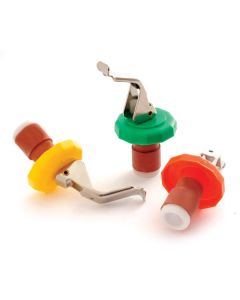 Norpro Bottle Stoppers, set of 3