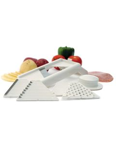 Norpro Seven-in-One Mandoline Slicer/Grater With Guard
