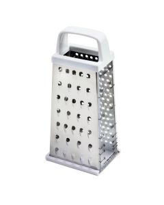 Norpro Stainless Steel Cheese Grater with Sliding Tray and Measures