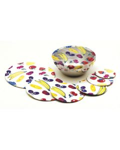 BOWL COVERS, 6 PC SET