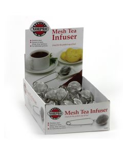 Norpro Mesh Tea Infuser, diplay of 24