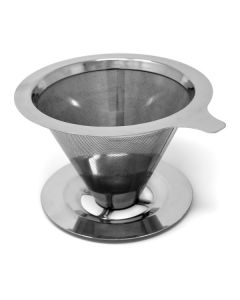 Norpro stainless steel coffee filter with stand