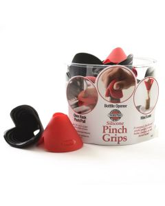 SILICONE PINCH GRIPS, 24 PC DSP