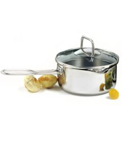Norpro Krona® 1.5Qt/1.4L Stainless steel, Vented Sauce Pan with long handle