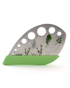 STAINLESS STEEL HERB STRIPPER/CHOPPER WITH COVER