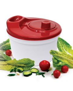 Red Salad Spinner