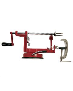 Norpro Apple-Master with Vacuum Base & Clamp, Red