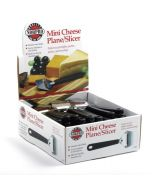 Norpro Mini Cheese Slicer, display of 48